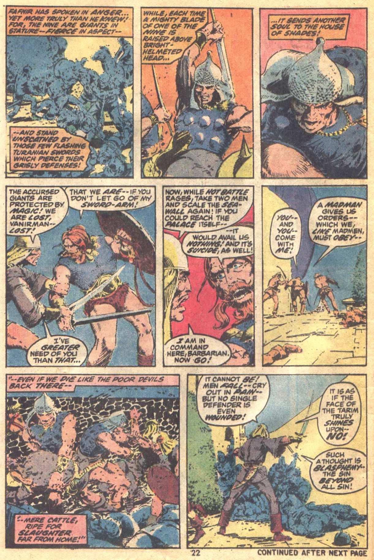 Conan the Barbarian (1970) Issue #19 #31 - English 17