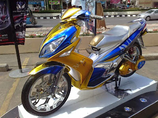 Foto Modifikasi Yamaha Nouvo