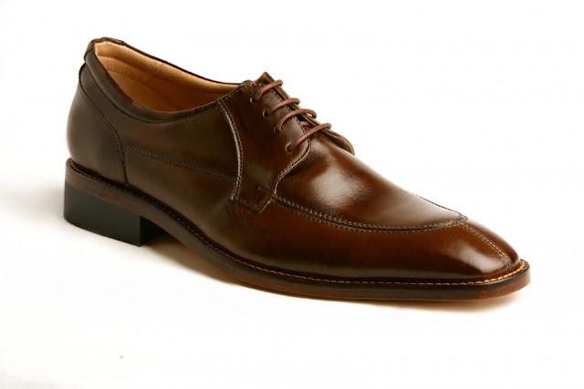 Zapato de cuero Marrón