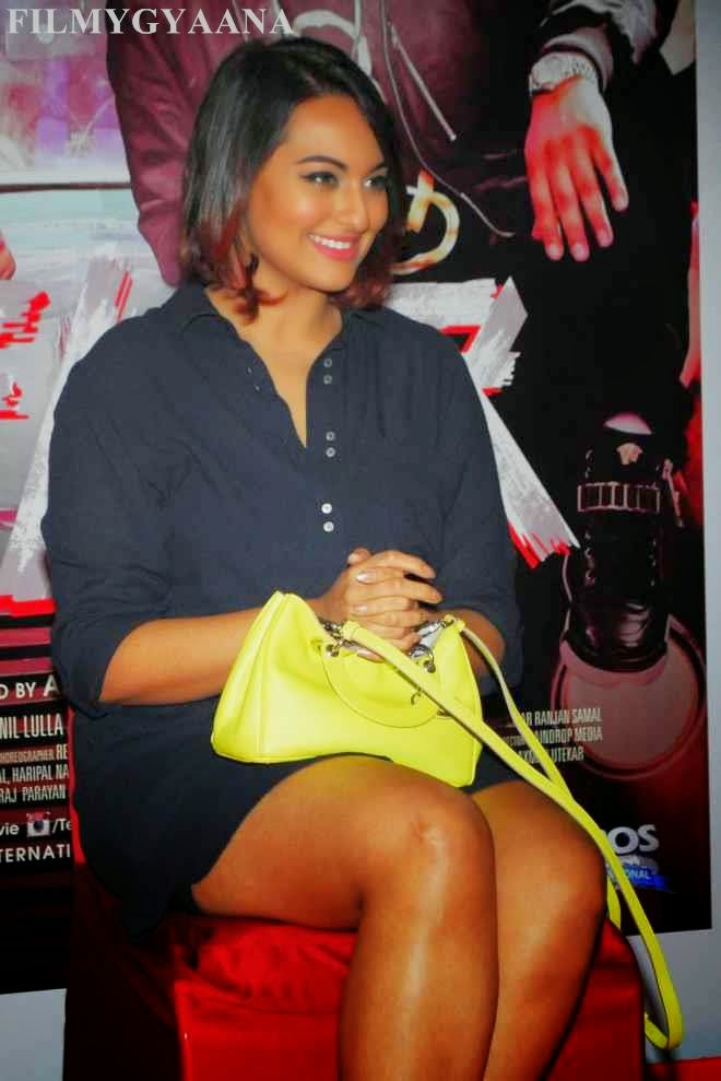 sonakshi sinha hot thigh show images