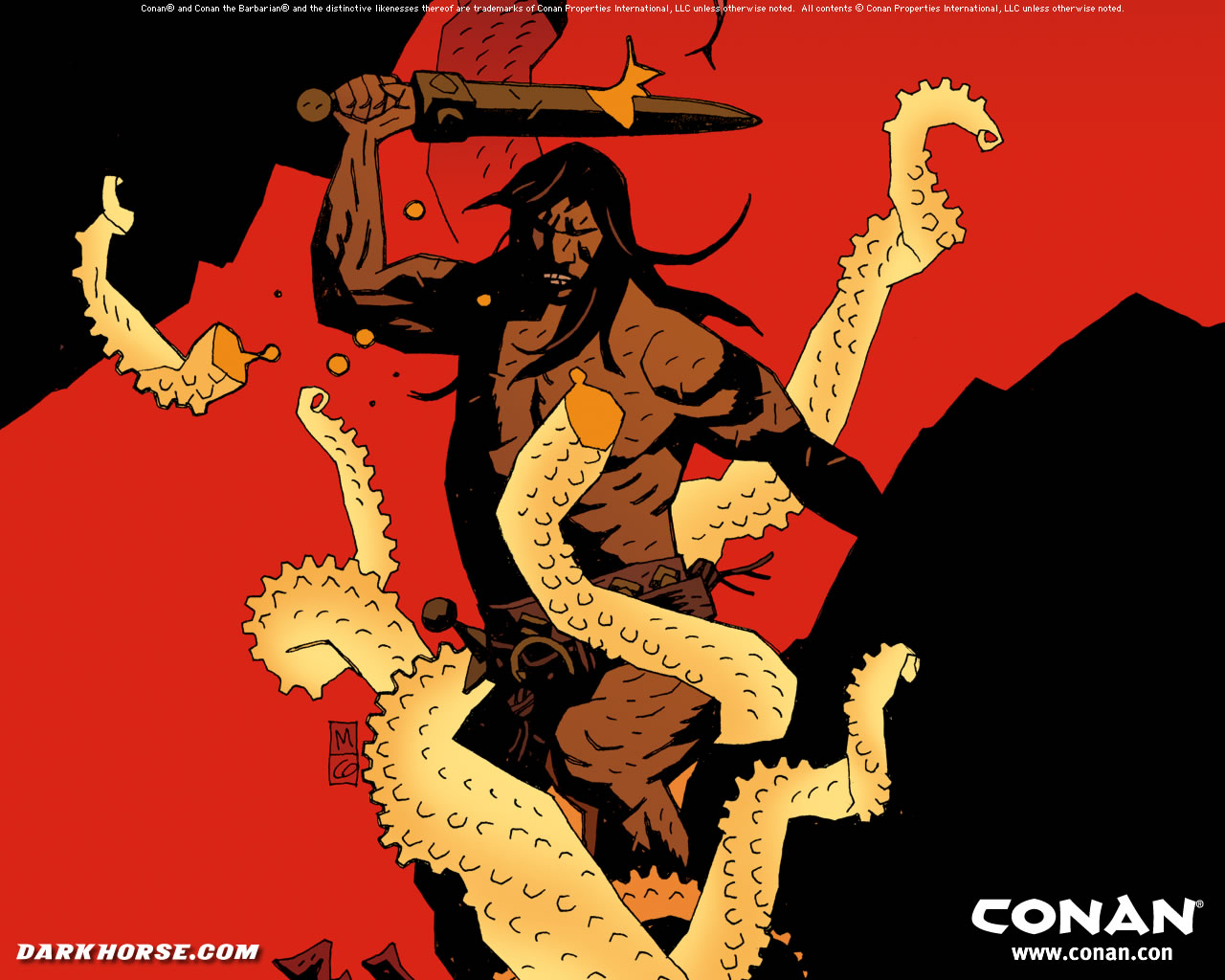 No One Equals Doom Conan Wallpaper By Mike Mignola