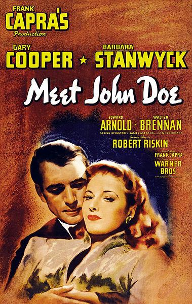 Ver película : Meet John Doe (Juan Nadie) - Frank Capra