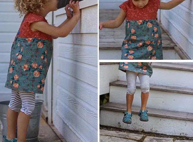 acorn trail geranium dress