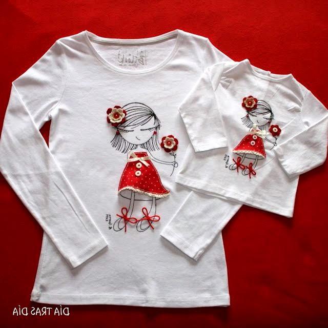 Декорирование футболок. Decorating T-shirts