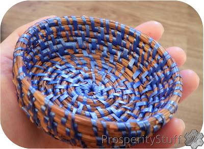 Handmade Pine Straw Basket