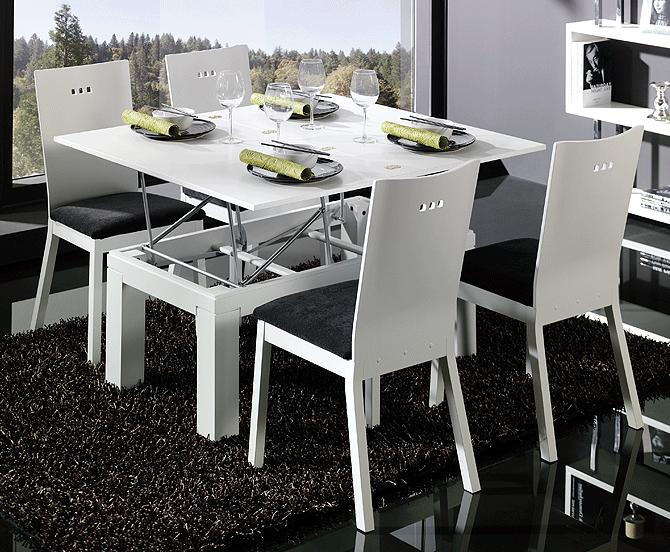 Marta decoycina mesas de comedor extensibles y abatibles for Comedores minimalistas de madera