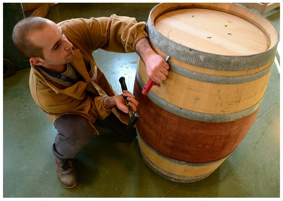 San patrignano barrique blog arredamento for Botti in legno arredamento