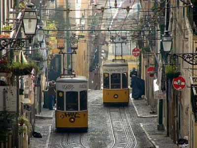 Los tranvías de Lisboa