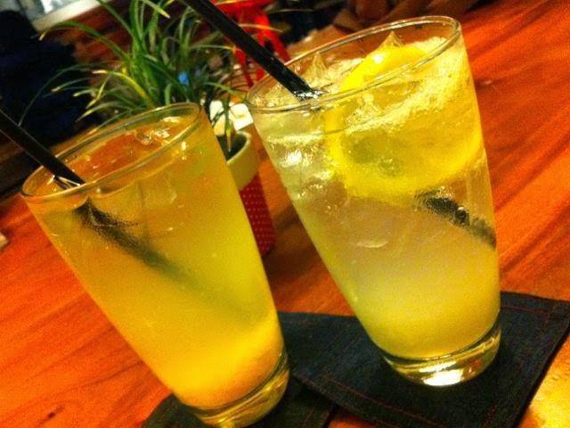 Lemon Squash yang menyegarkan