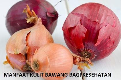 Manfaat Kulit Bawang Merah Bagi Kesehatan