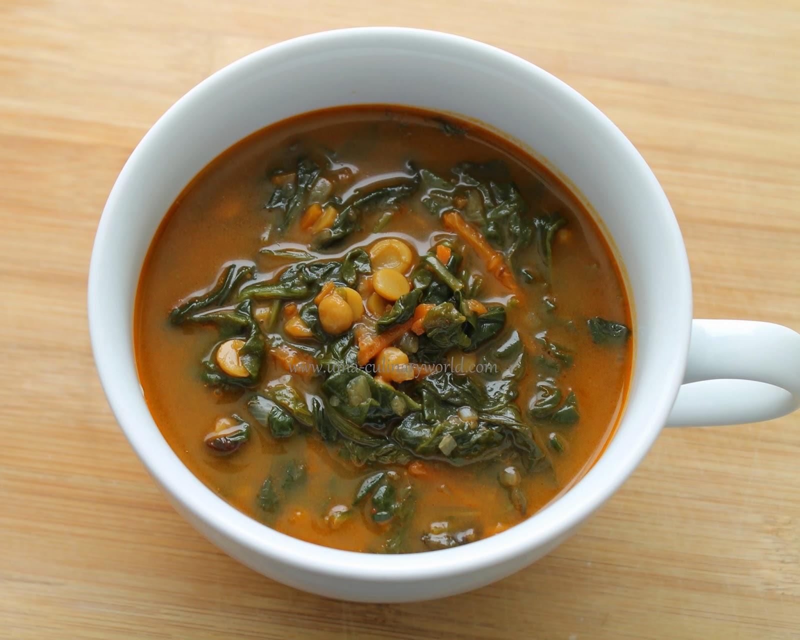 Mixed Vegetables Lentil Soup