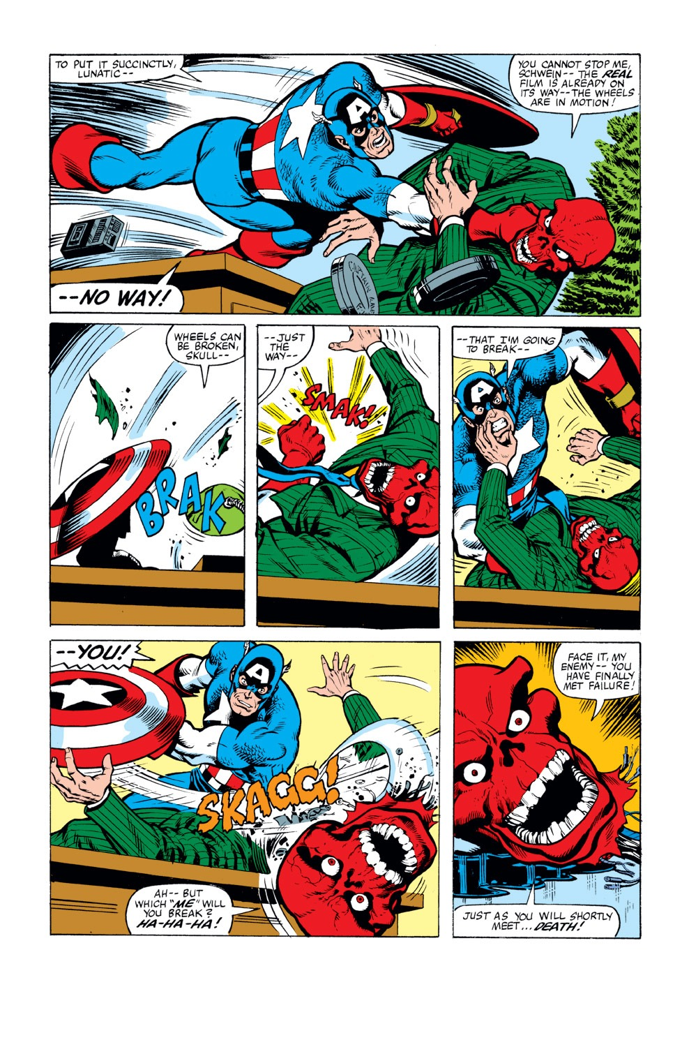 Captain America (1968) Issue #263 #178 - English 18