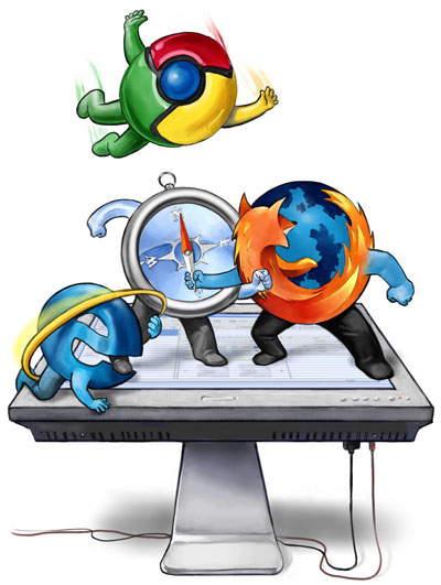 Browser-War Anak Pungut Mozilla  wallpaper