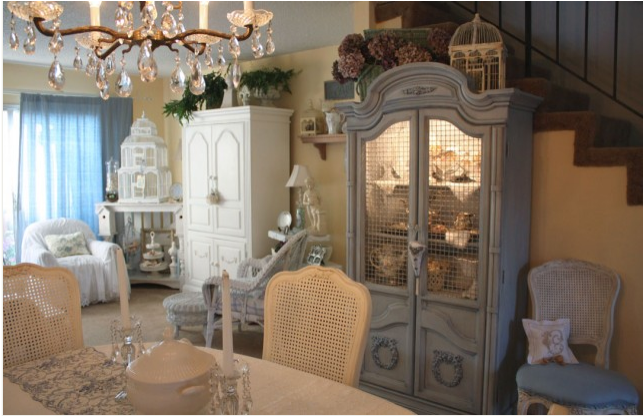 French country dining room design ideas room design ideas for Country french decorating ideas living room