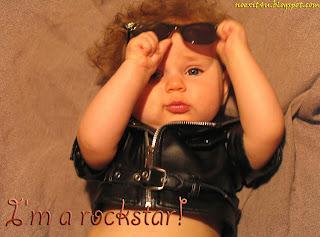 ROCKSTAR BABY WALLPAPER