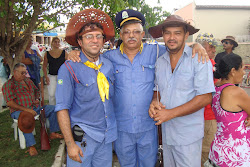 Ivan Marinho, Euclides Paiva e Lenilson Ferreira