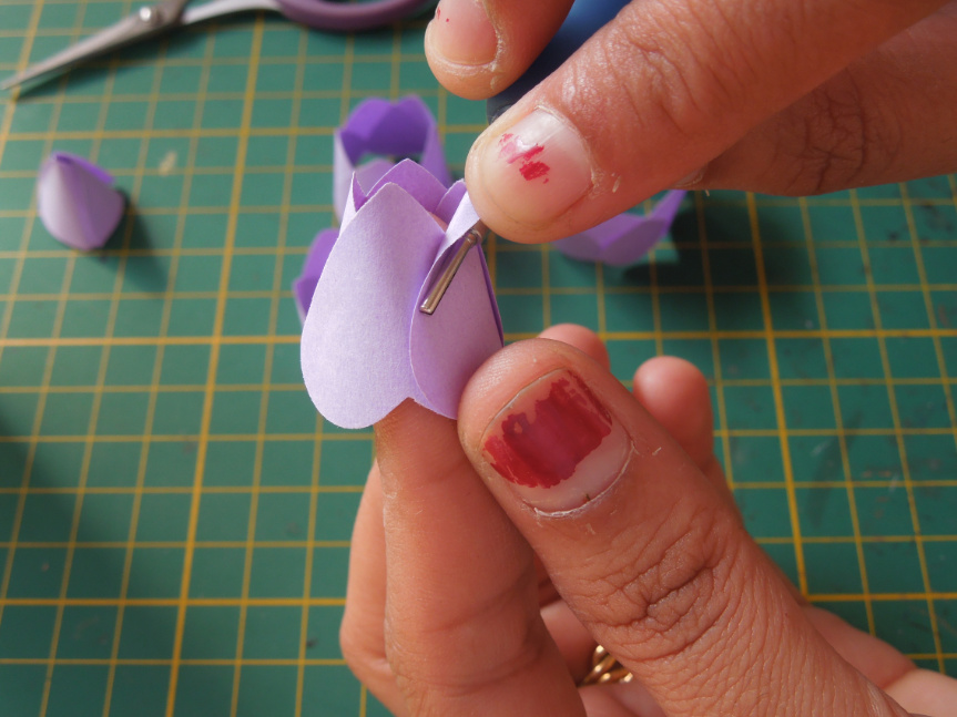 Quilling Me Softly Punch Craft Rose Tutorial