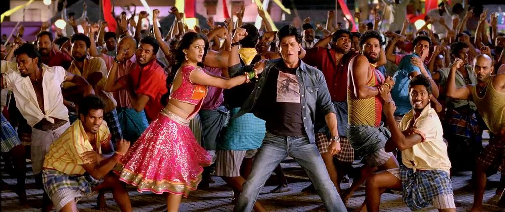 Movies blog srk deepika 39 s chennai express movie to for 1234 get on the dance floor chennai express