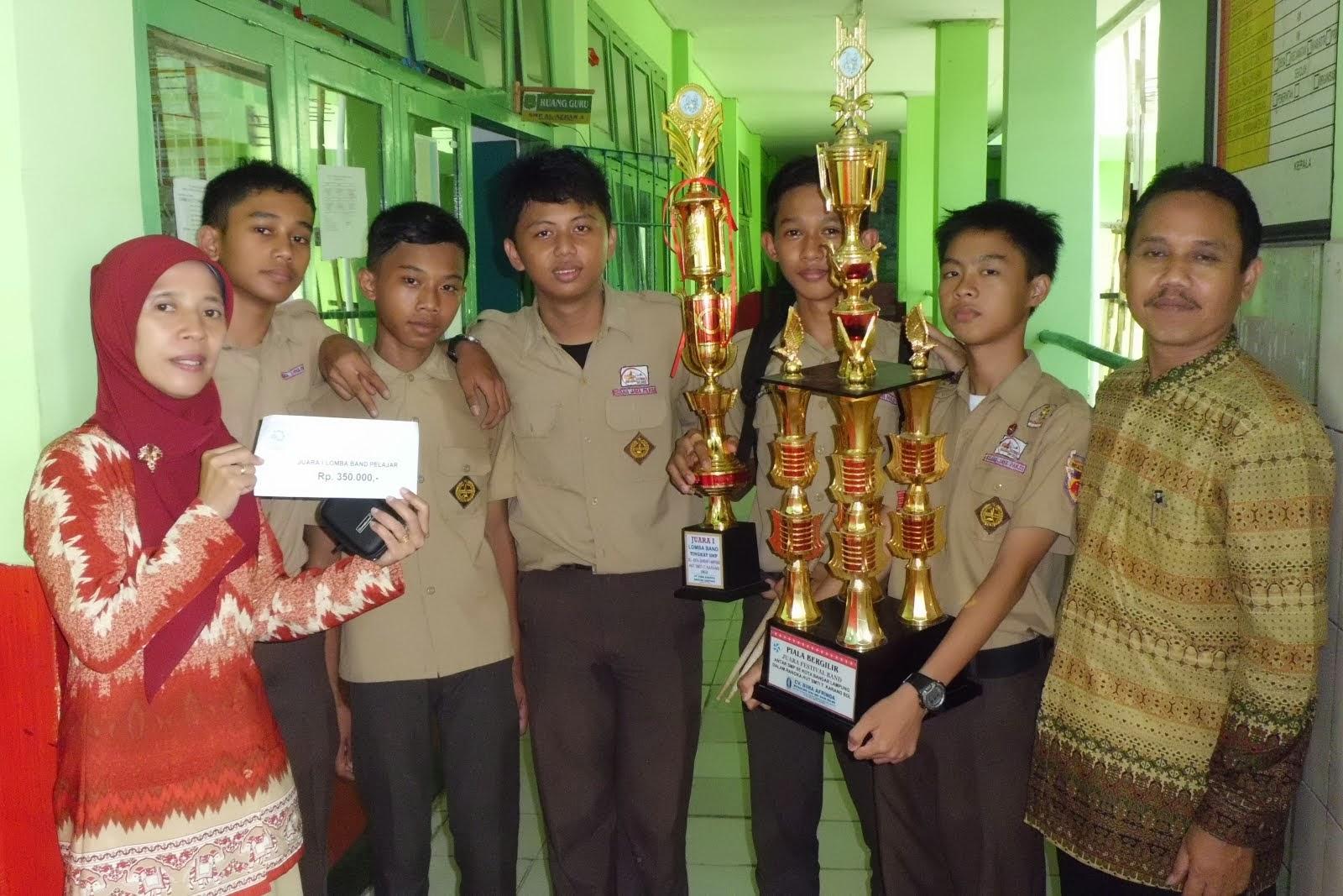Juara Lomba band Pelajar