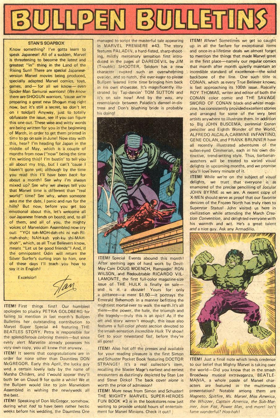 Conan the Barbarian (1970) Issue #90 #102 - English 20