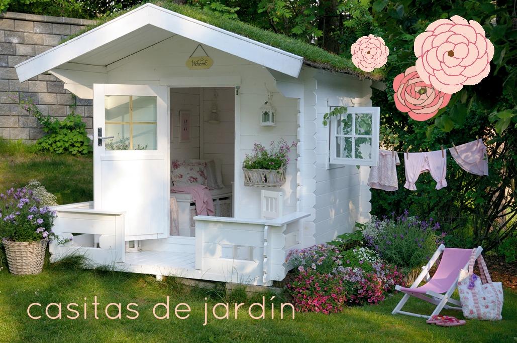 En casa de t a gretel casitas para jugar en el jard n y for Caseta de jardin de segunda mano