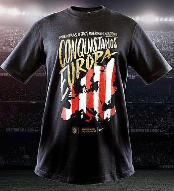 camiseta Atlético de Madrid Campeones Europa League