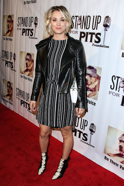 Actress @ Kaley Cuoco - Stand Up For Pits Comedy Benefit in Hollywood