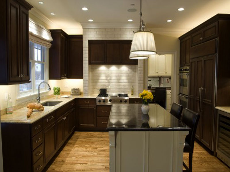 Free Kitchen Design Ideas ~ U shaped kitchen designs pictures computer wallpaper