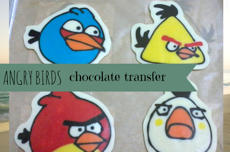 learn how to make chocolate transfer