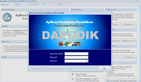 Pendataan Dikdas Pengecekan Data Dapodik Sekolah, Guru/PTK dan SK Tunjangan
