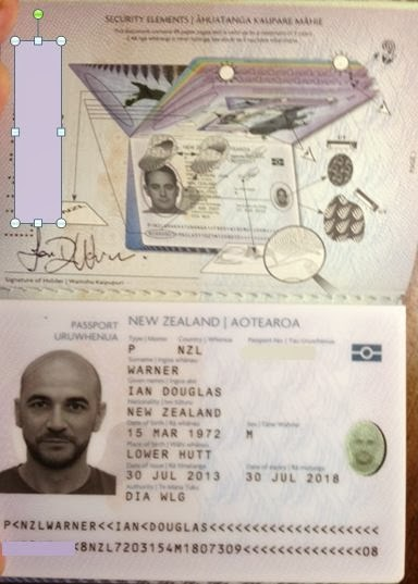 is my passport machine readable