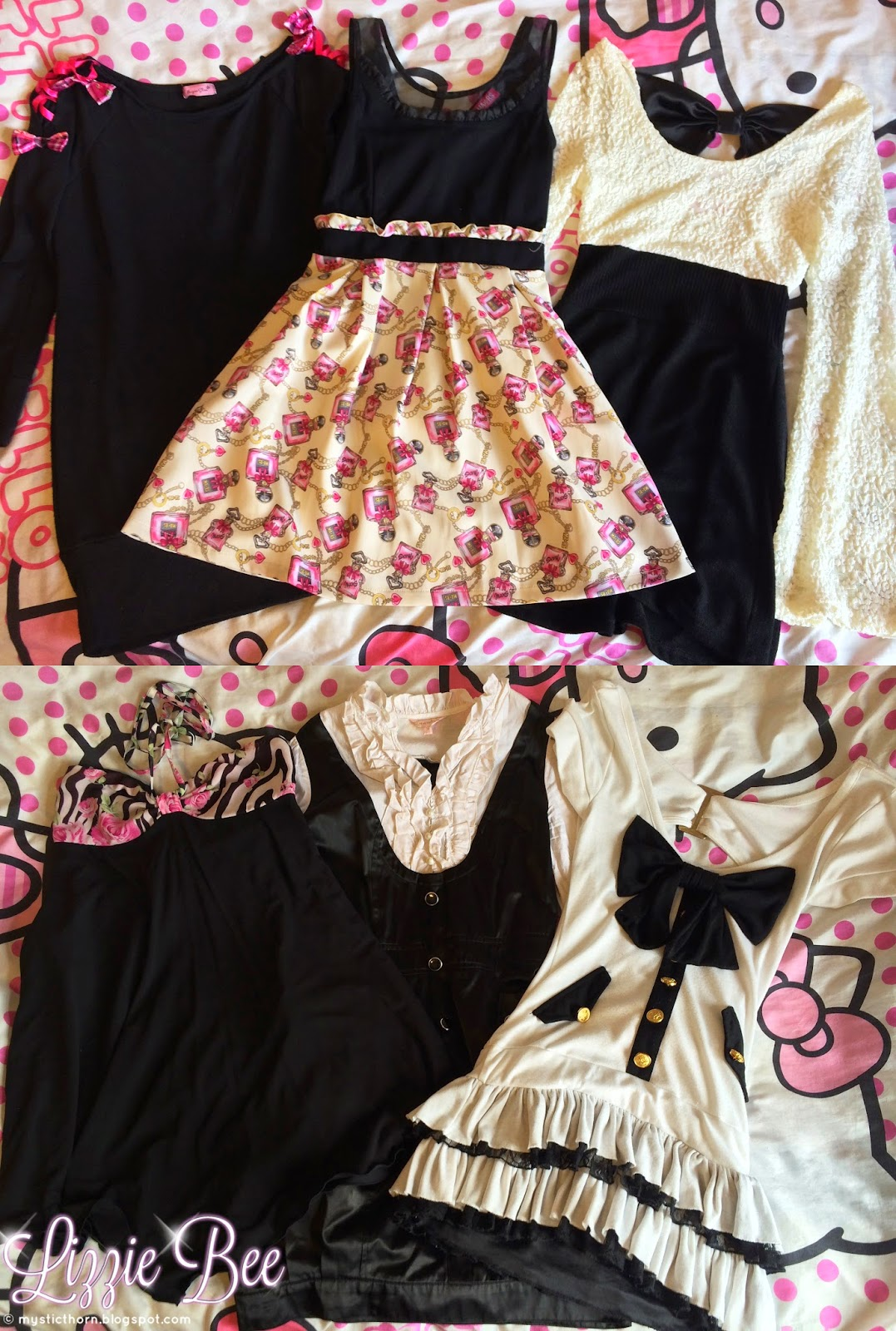 Agejo gyaru wardrobe collection by hellolizziebee