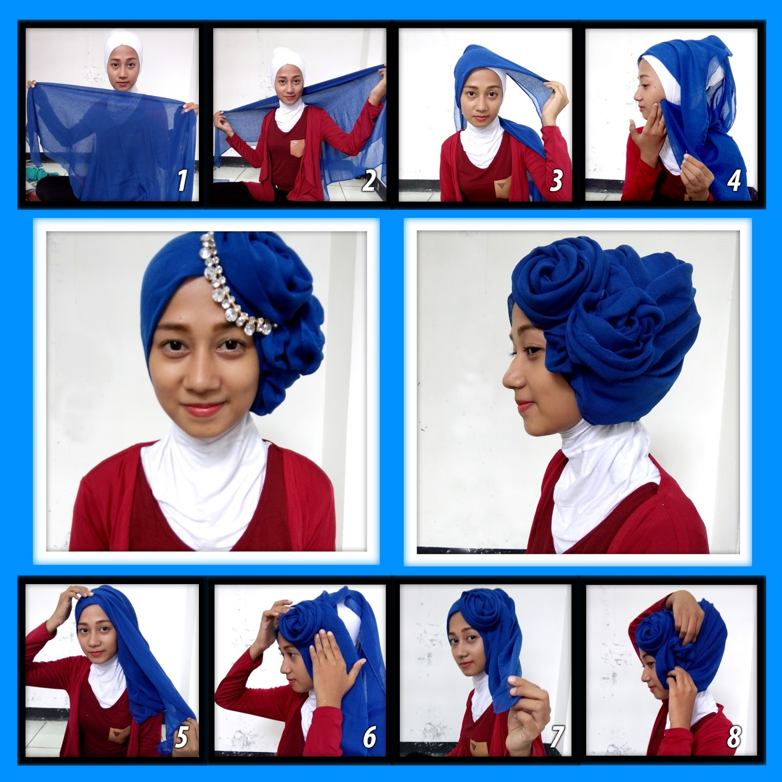 Narwastu Tutorial Hijab Segiempat Dan Pasmina