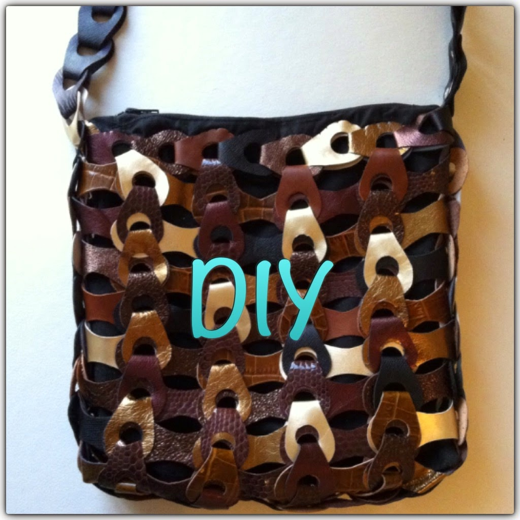 DIY på lædertaske