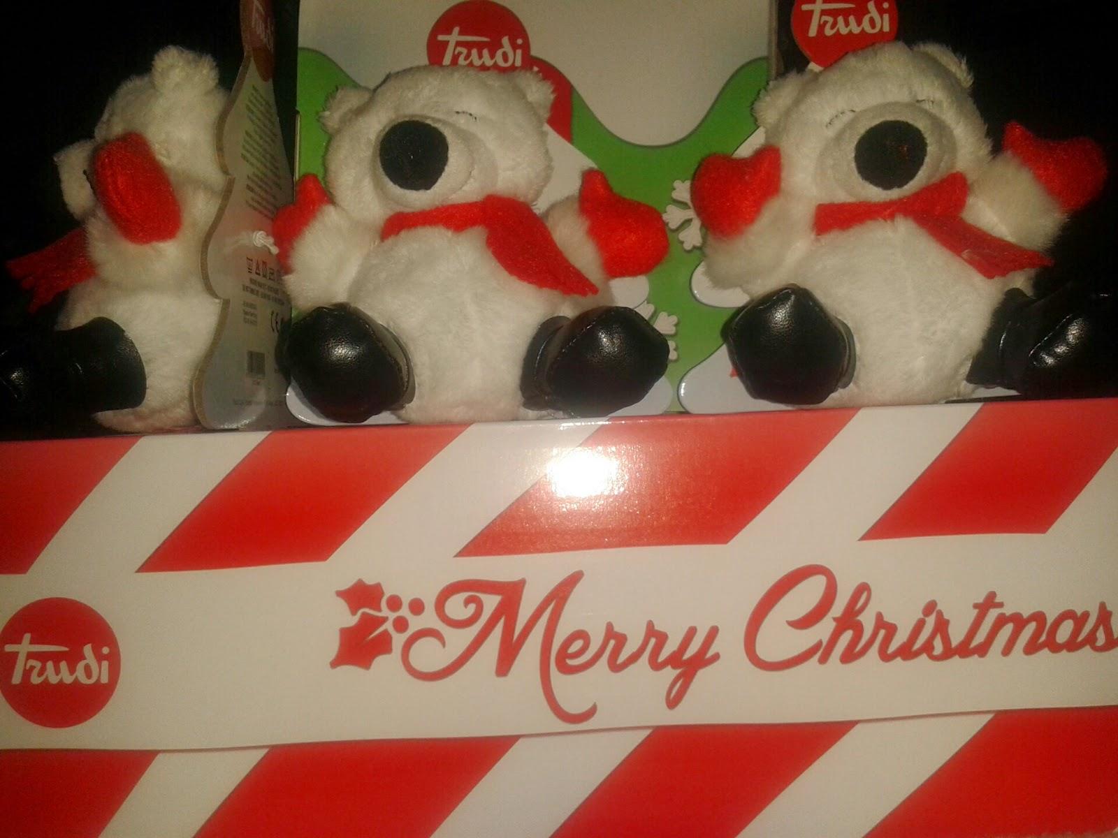 dettagli di natale firmati trudi : orsetti natalizi sweet collection