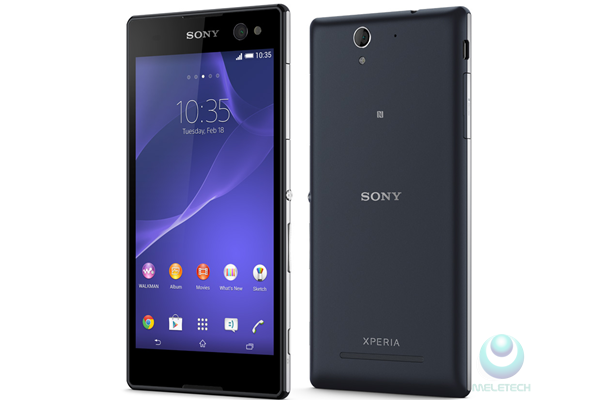 Spesification and price Sony Xperia C3