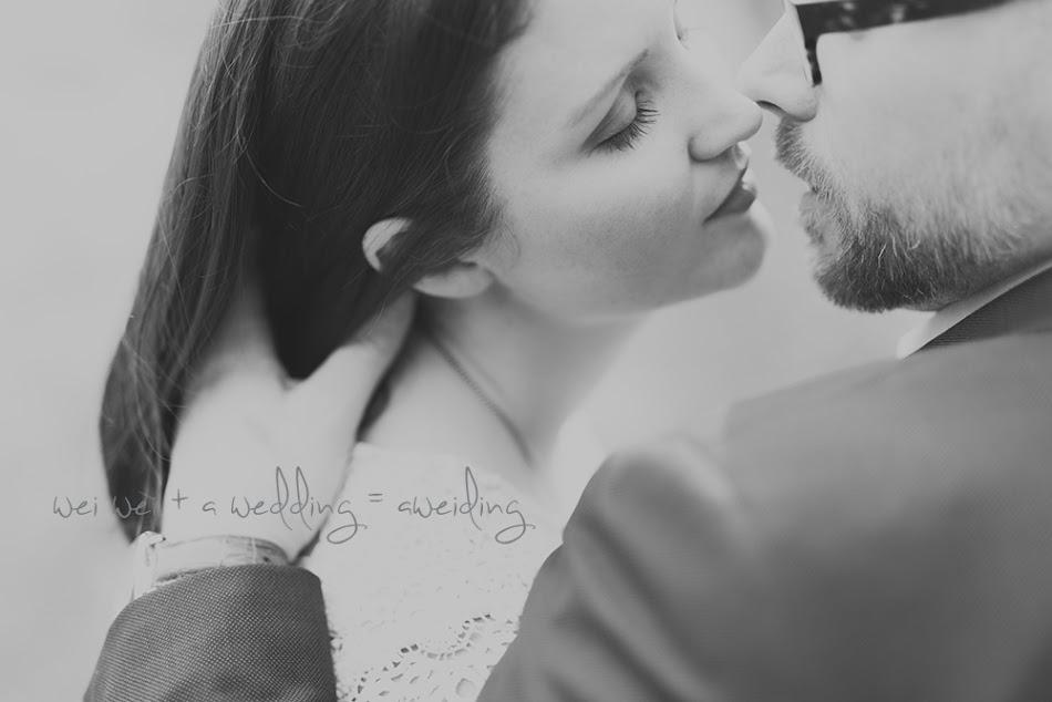 wei wei + a wedding = Aweiding