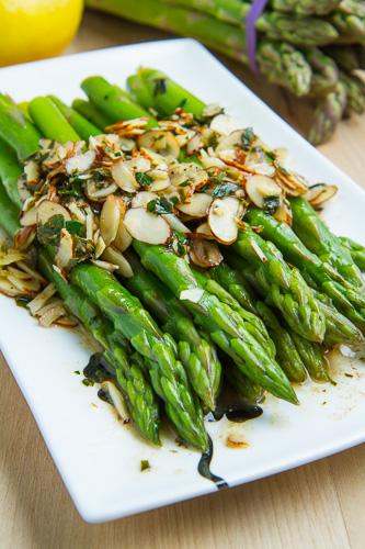 Asparagus Amandine