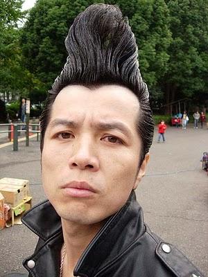 Japanese Punk Rock Haircut For Men