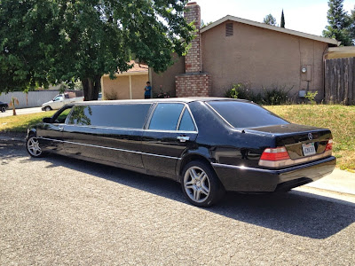 Mercedes 500sel w140 limousine benztuning for Mercedes benz limousine rental