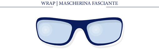 WRAP - MASCHERINA A FASCIA