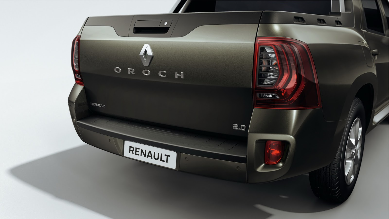 This is renault 39 s new duster oroch small pickup truck for Interieur nouveau duster