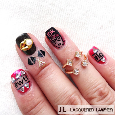 Hipter Nail Art