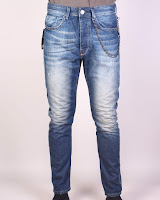 Pantaloni Zara Man Leonard Blue Jeans (Z )