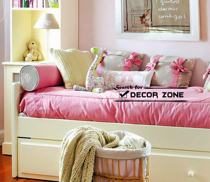 kids bedroom ideas and furniture designs in pink