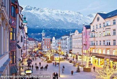 Innsbruck tempat wisata terkenal di austria