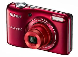Nikon Coolpix L27 Merah