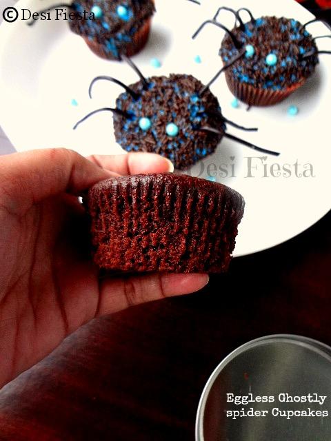 spider cupcakes - halloween treats