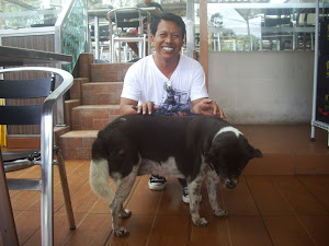KASENA AND BEACHIE IN MCDONALD'S, KUTA, BALI