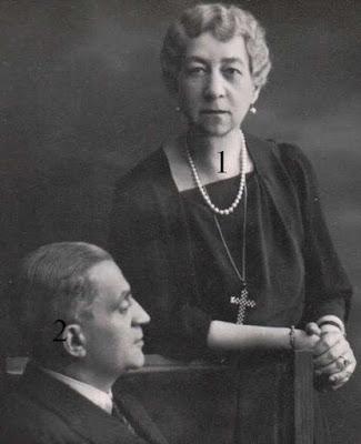 Maria de Grèce et Periclès Ioannidis